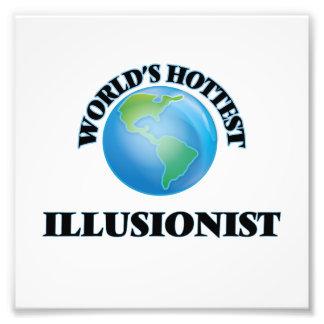 El ilusionista más caliente del mundo impresión fotográfica