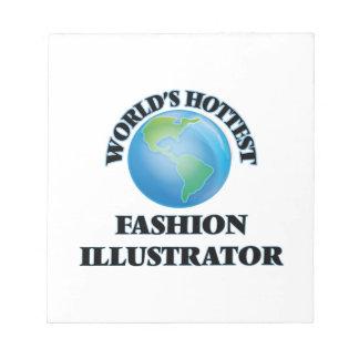 El ilustrador más caliente de la moda del mundo blocs de papel