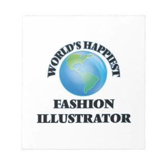 El ilustrador más feliz de la moda del mundo blocs