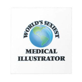El ilustrador médico más atractivo del mundo bloc de papel