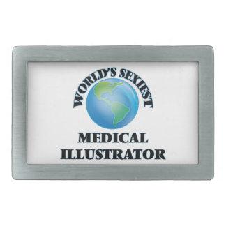 El ilustrador médico más atractivo del mundo hebillas cinturón rectangulares