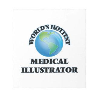 El ilustrador médico más caliente del mundo blocs de notas