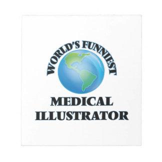 El ilustrador médico más divertido del mundo libretas para notas