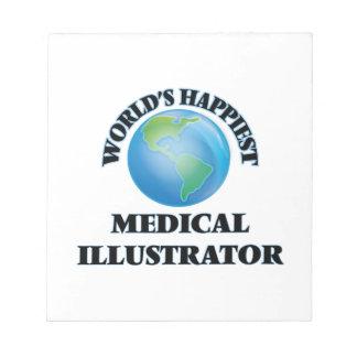 El ilustrador médico más feliz del mundo bloc de papel