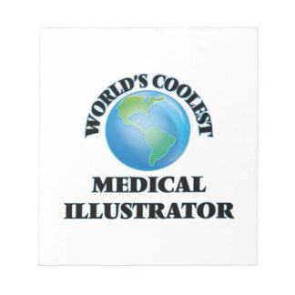 El ilustrador médico más fresco del mundo libretas para notas