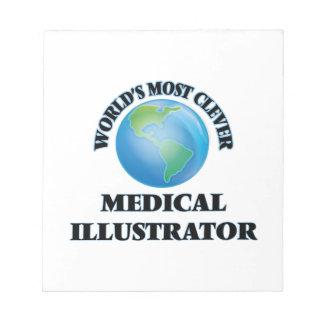 El ilustrador médico más listo del mundo bloc de papel
