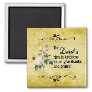 El imán de encargo II de señor Is Rich In Kindness