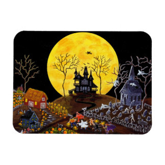 """El imán de Halloween """"guarda el correr """""""