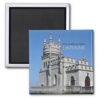 El imán de la foto del recuerdo del viaje de Ucran