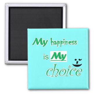 El imán - de motivación - mi felicidad es mi opció