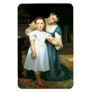 """""""El imán de Shell"""" William-Adolphe Bouguereau"""