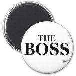 El imán de TM de la marca registrada de Boss