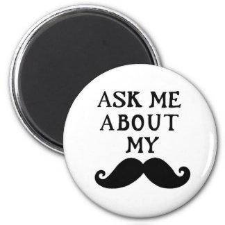 El imán del bigote me pregunta acerca de mi Stache