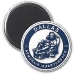 El imán del fútbol de la butaca QB Dallas