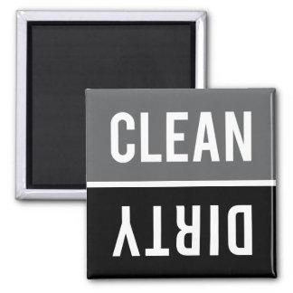 El imán del lavaplatos LIMPIA el SUCIO - gris y