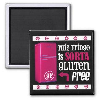 El imán Gluten-Libre del refrigerador de Sorta