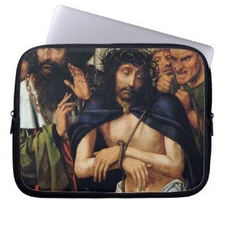 El imitar de Cristo (aceite en el panel) (véase 16 Fundas Ordendadores