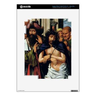 El imitar de Cristo (aceite en el panel) (véase 16 iPad 3 Skins