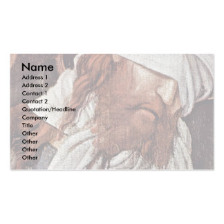 El imitar de Cristo de Grünewald Mathis Gothart (s Plantilla De Tarjeta De Negocio