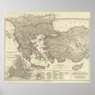 El imperio bizantino hasta el Xite Póster