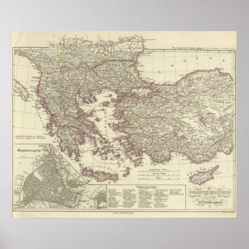 El imperio bizantino hasta el Xite Posters
