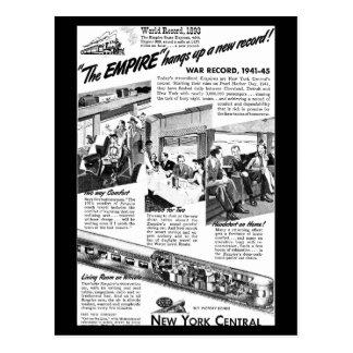 El imperio de NYC expresa 1945 Postales
