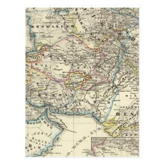 El imperio del califa en su más grande - del este postal