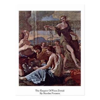 El imperio del detalle de la flora de Nicolás Pous Tarjeta Postal