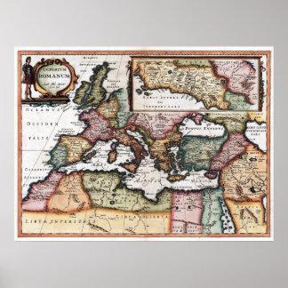 El imperio romano póster