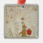 El imperio turco, de un atlas náutico, 1646 ornamentos de reyes