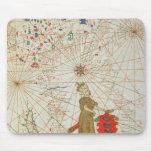 El imperio turco, de un atlas náutico, 1646 mousepad
