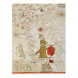 El imperio turco, de un atlas náutico, 1646 postal