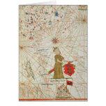 El imperio turco, de un atlas náutico, 1646 tarjeta de felicitación