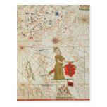 El imperio turco, de un atlas náutico, 1646 tarjetas postales