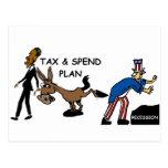 El impuesto de Obama y pasa plan Postales