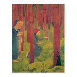 El Incantation, o la madera santa, 1891 Postal