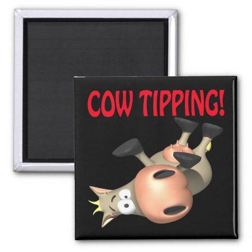 El inclinar de la vaca imán