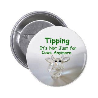 El inclinar - no está apenas para el botón de las  pin