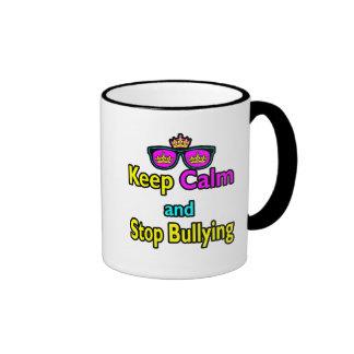 El inconformista de la parodia guarda calma y para tazas de café