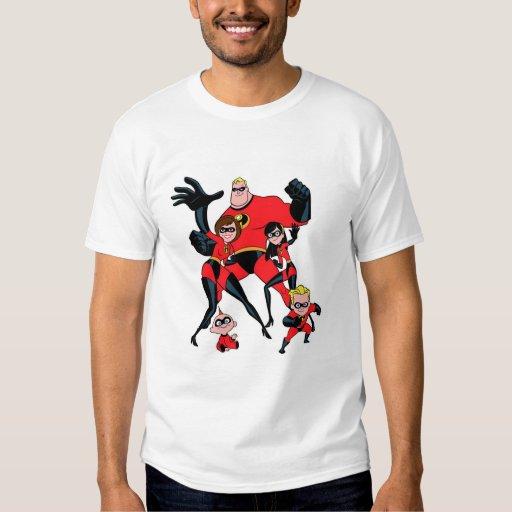 El Incredibles Disney Remeras
