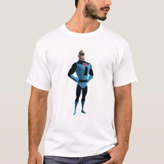 El Incredibles Mr.Incredible en Disney azul Playera