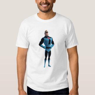 El Incredibles Mr.Incredible en Disney azul Playeras