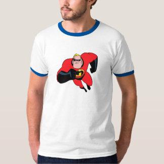 El Incredibles Mr.Incredible que vuela Disney Remera