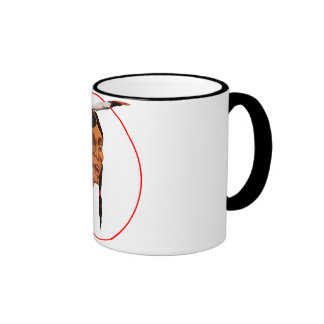 El indio de risa taza de café