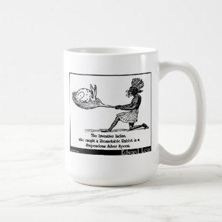 El indio inventivo taza de café