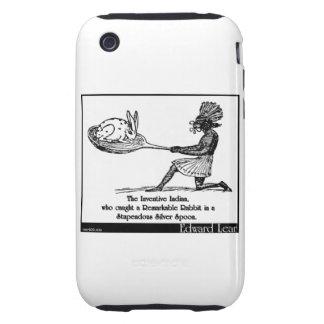 El indio inventivo tough iPhone 3 carcasa