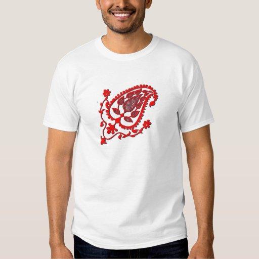 El indio rojo brillante inspiró el Ornamental Playeras