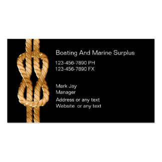 El infante de marina suministra tarjetas de visita