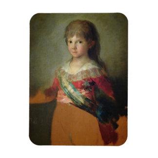El infante Don Francisco de Paula Antonio, 1800 ( Imanes Rectangulares