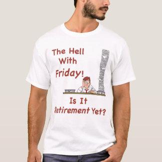 El infierno con la camiseta de los hombres de